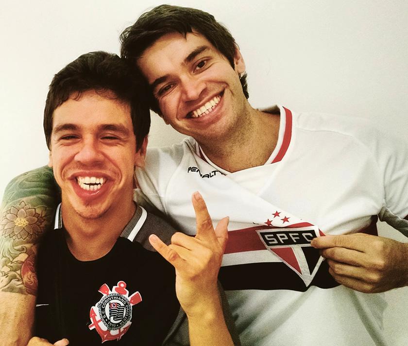 Com meu irmão e parceiro Raul Neto